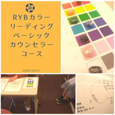 RYBカラーリーディングベーシックカウンセラー講座の写真